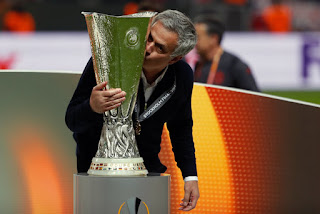 jubilation as manchester united lift europa cup