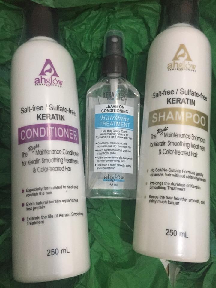 Ahglow Hair Rebonding System Straight Shiny Rebonded Hair That Lasts It S Me Gracee
