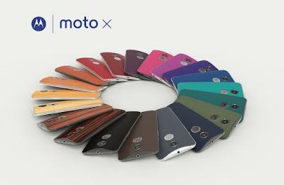 Moto X 2ª Geração design