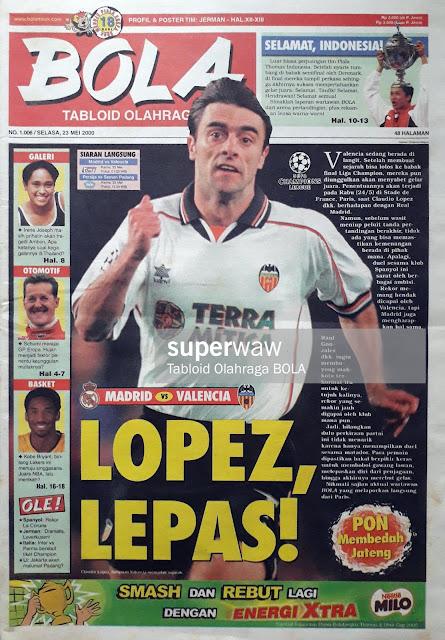 CLAUDIO LOPEZ OF VALENCIA