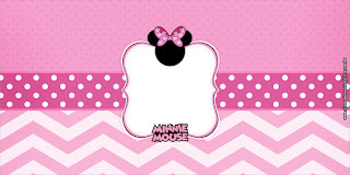 Pretty Minnie in Pink: Free Printable Party Labels.