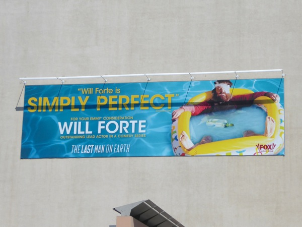 Will Forte Last Man on Earth 2016 Emmy nomination billboard