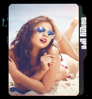 Girl on beach icon, girl icon, Sunglasses girl, beach girl icons, bikini girl icons, Sunglasses.