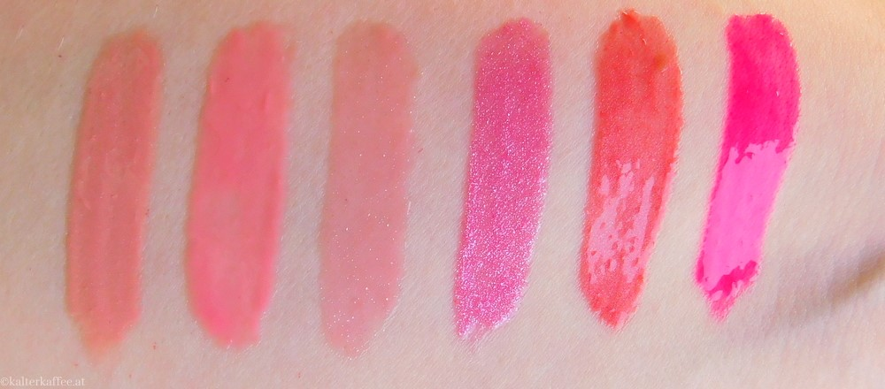 Manhattan Oh My Gloss Swatches