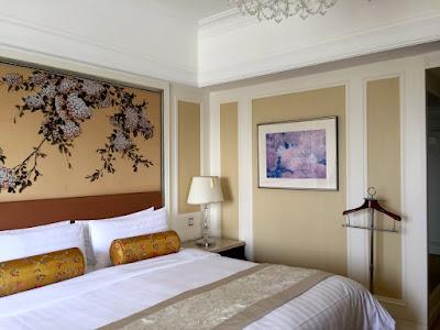 Comfort Zone? Da bewege ich mich nicht mehr raus... die Betten sind ein Traum, das Dekor modern-chinesisch © diekremserin on the go