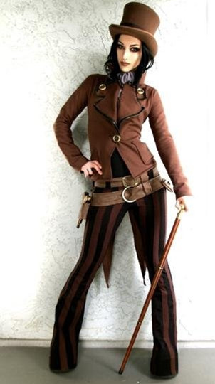 devilinspired punk clothing tips for different steampunk