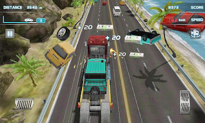 Screenshot: Turbo Car Racing 3D for Android
