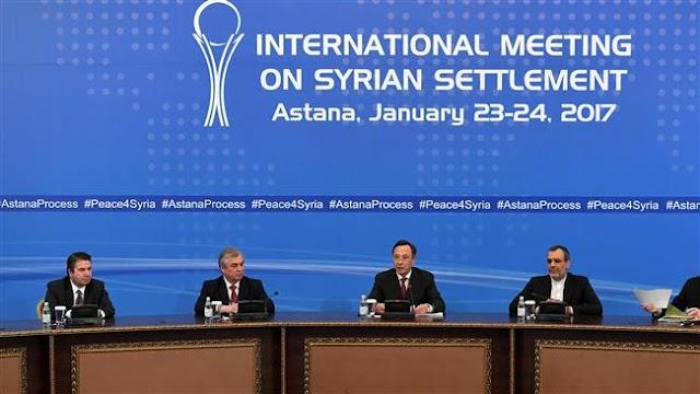 Fresh round of Syria peace talks kick off in Kazakh capital Astana