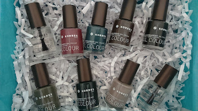 Korres Fall 2015 Inspired by Nature Nail polish Collection