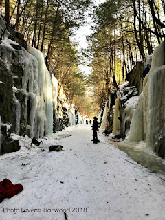RR, the cut, keene, nh, ice climbing