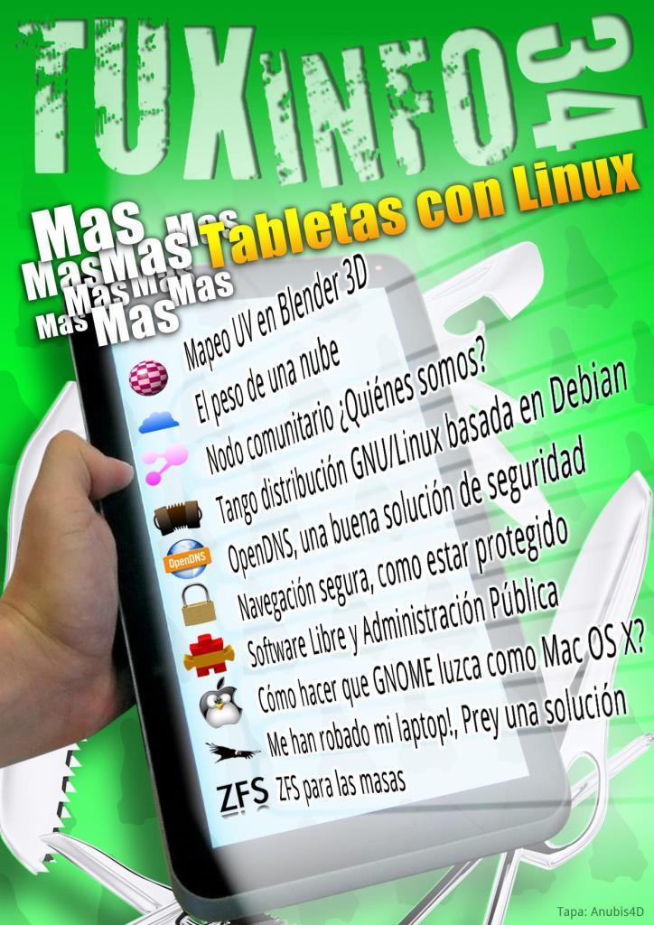 TuxInfo Nro. 34 – Tabletas con linux