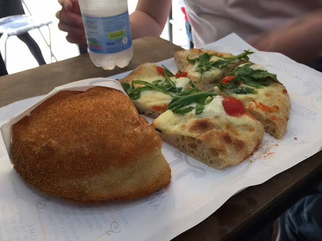 Lunch at Mondo Arancina, Rome, Italy