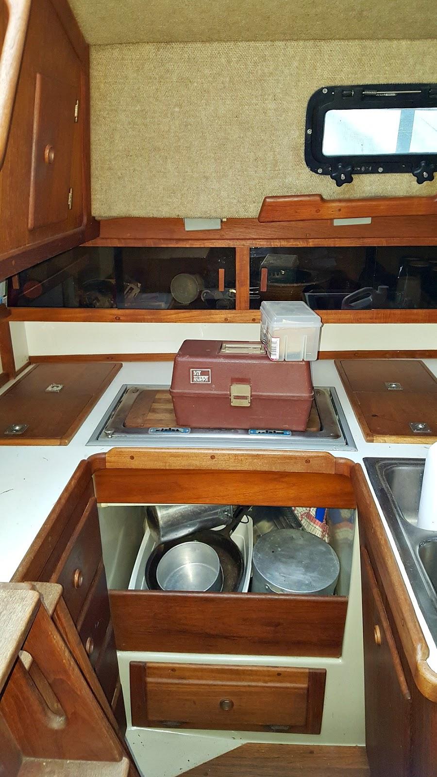 Ticon 30 Galley (Kitchen)