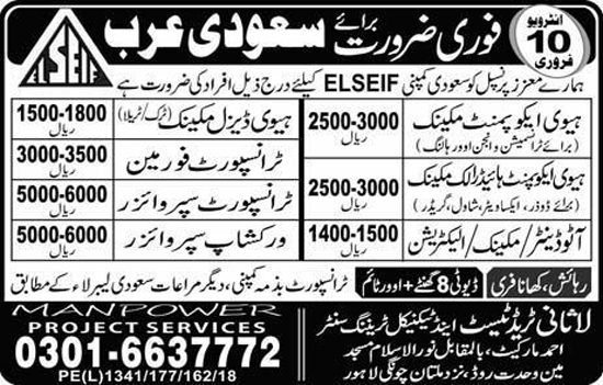 Lasani Trade Test And Technical Training Centre Lahore Jobs Feb 2018