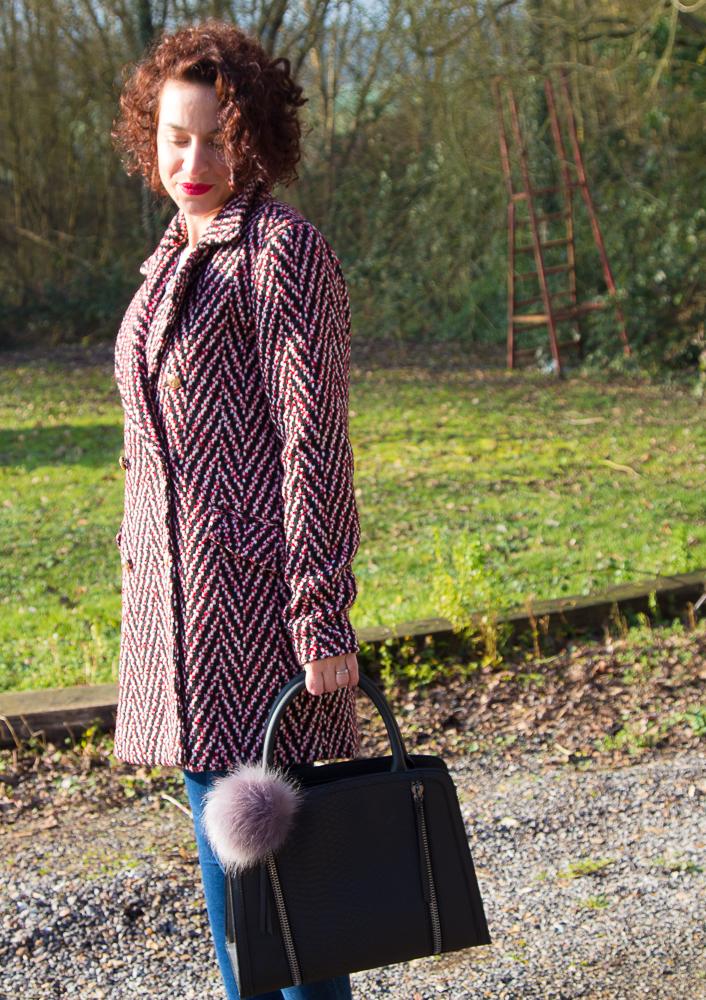 manteau-laine-vero-moda-rouge