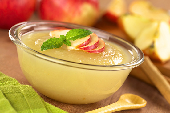 Receta de Puré de Manzanas