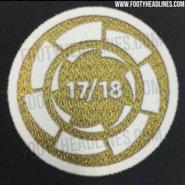 Nueva insignia de campeón vigente de Liga