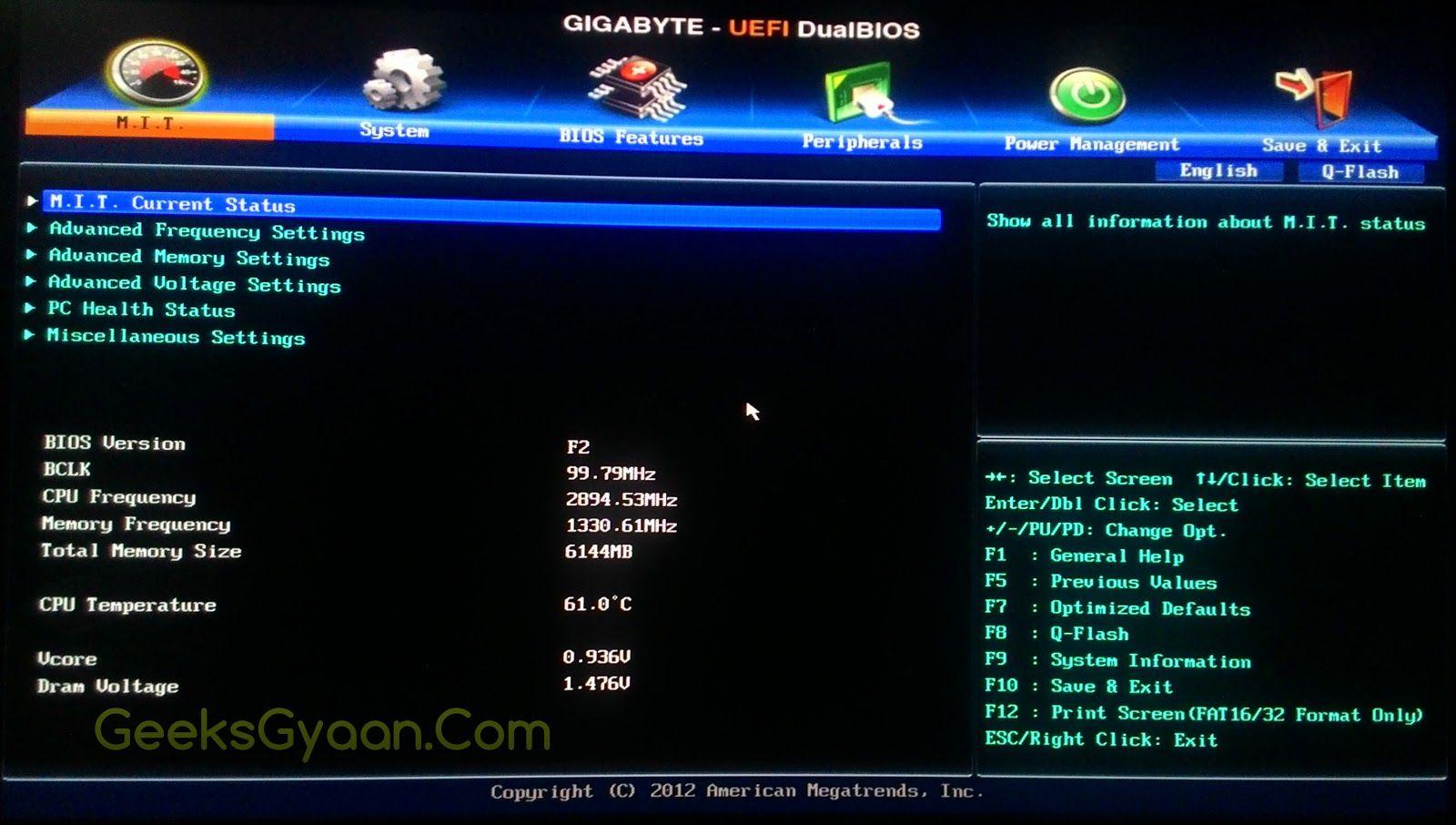 How to Increase Intel HD Graphics Dedicated Video Memory - Geeks Gyaan
