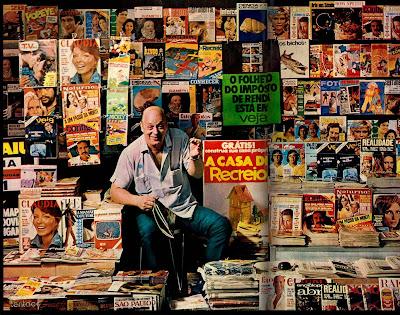 Banca de jornais e revistas na década de 70
