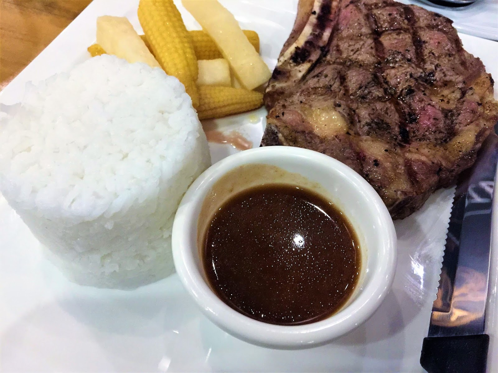 Roberto's Salt and Pepper Steak in SM Marikina