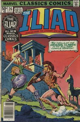Marvel Classics Comics #26, the Iliad