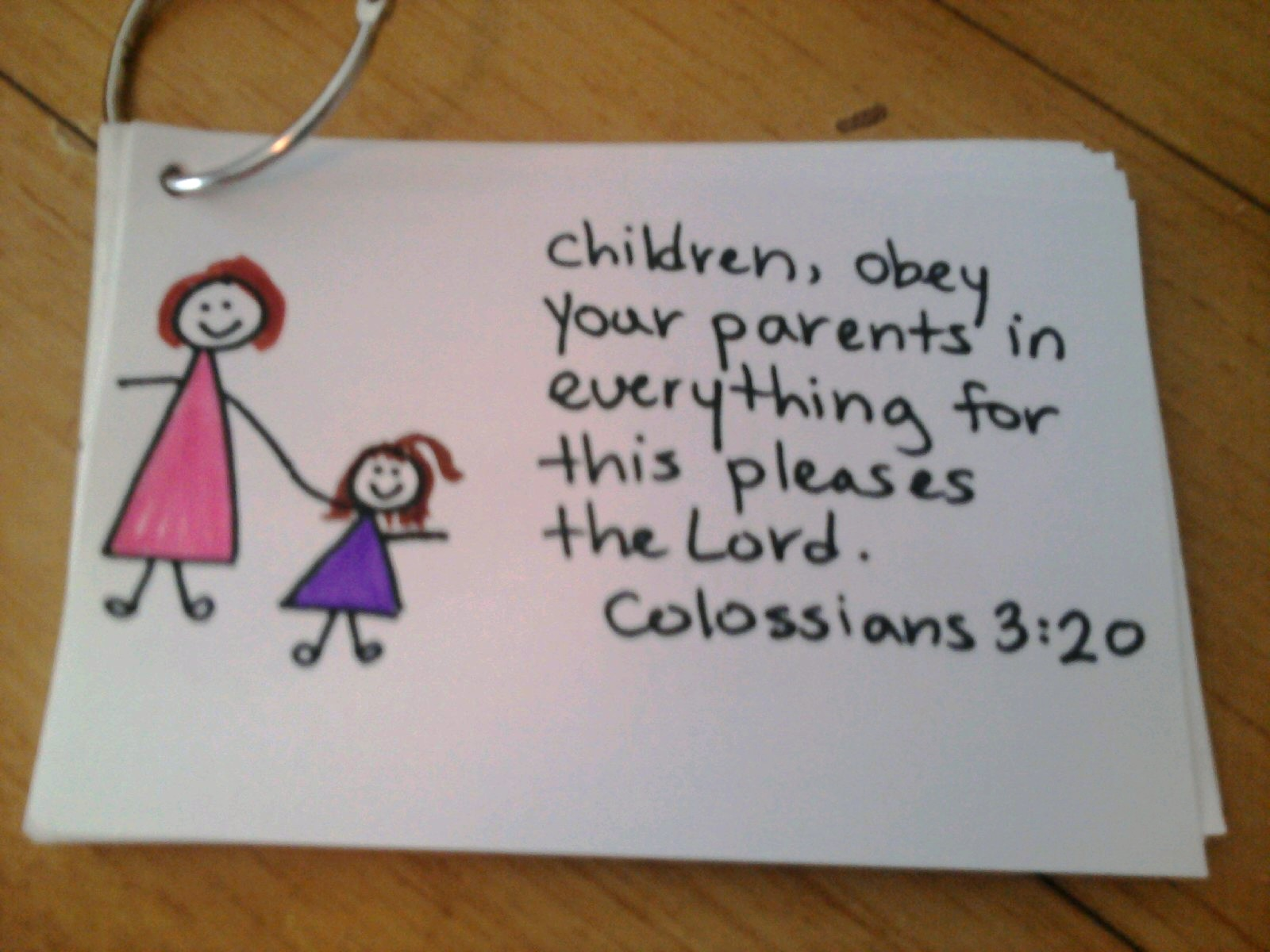 Tiny Hearts Blog Lesson 22 God Wants Us To Obey Our