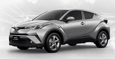 Toyota CHR Metal Stream Metallic