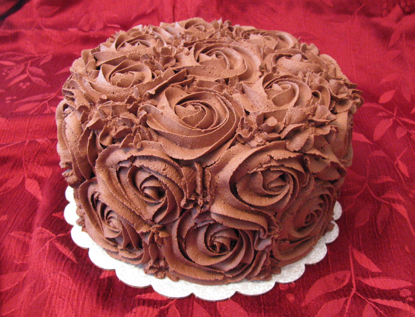 : chocolate frosting cake decorating ideas - www.pureclipart.com