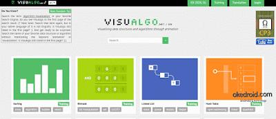 Situs Web Visualgo Belajar Alogritma Lewat Animasi