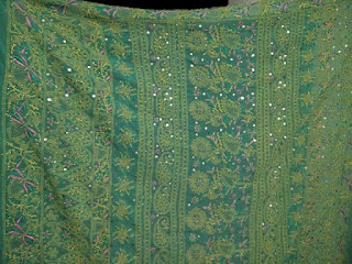 Green Pallu Saree