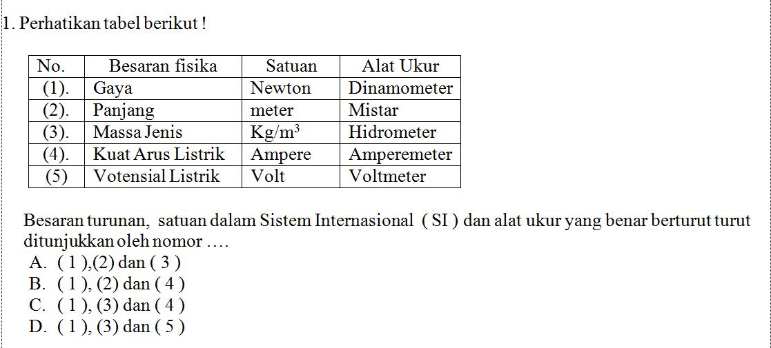 Pembahasan Soal Ipa Try Out Ujian Nasional Part 1 Al Maududy