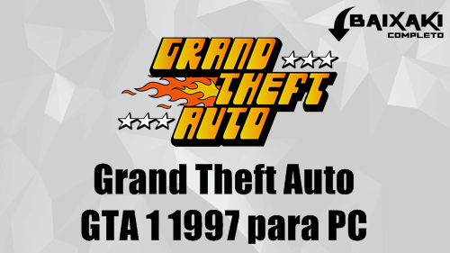 Grand Theft Auto (GTA 1 1997) PC