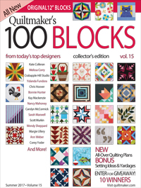 magazine cover QM 100 blocks vol. 15