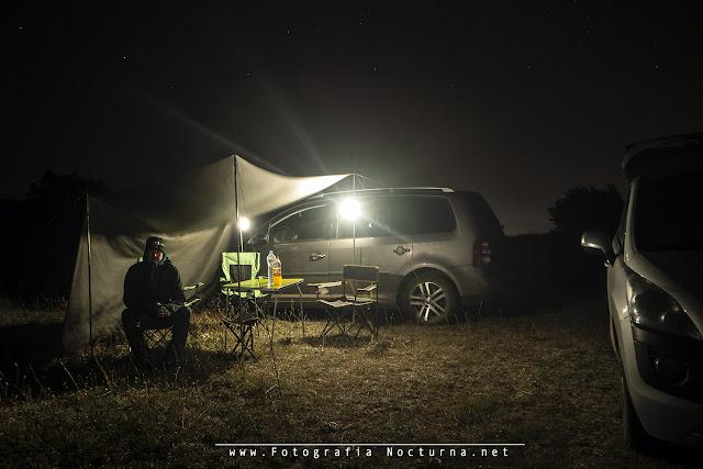 Campamento Perseidas 2018