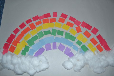 The Active Toddler Rainbow Craft Projects Toddlers Preschoolers