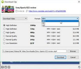 4K Download Clip