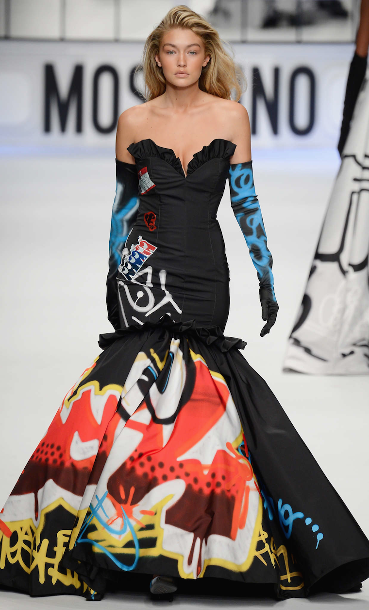 Gigi Hadid for Moschino Fall 2015