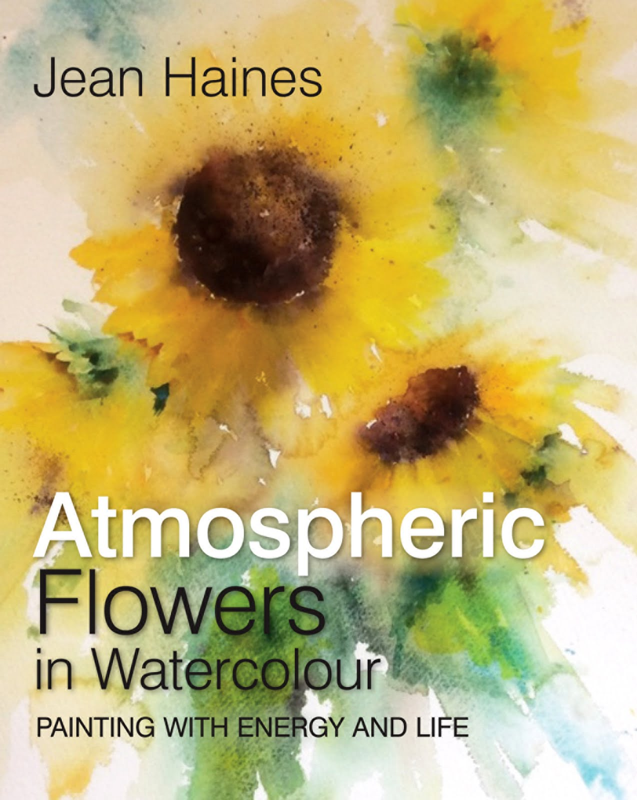 Atmospheric Flowers in Watercolour