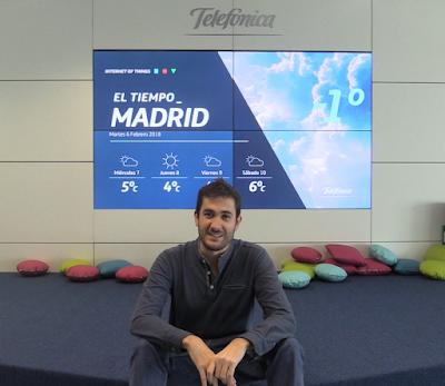 Javi Espinosa, ingeniero en CDO de Telefónica