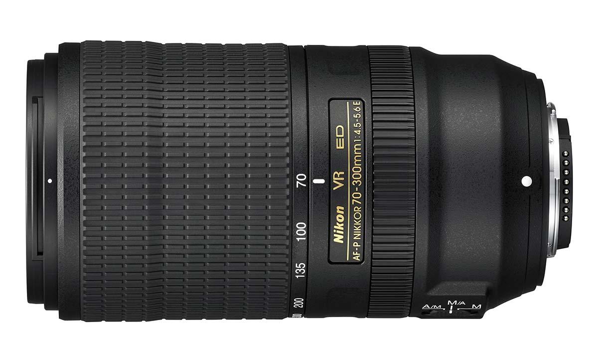 Объектив Nikon AF-P Nikkor 70-300mm f/4.5-5.6 ED VR
