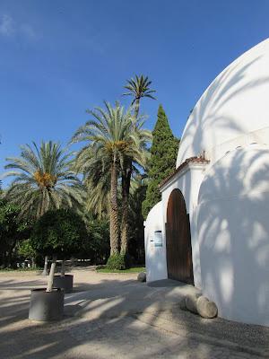 Centro de visitantes del Palmeral de Elche