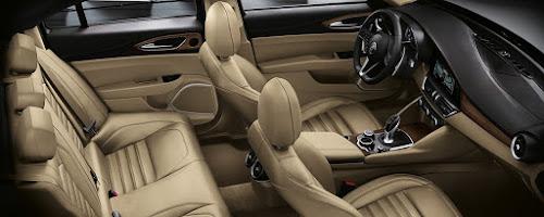 Alfa Giulia Interior