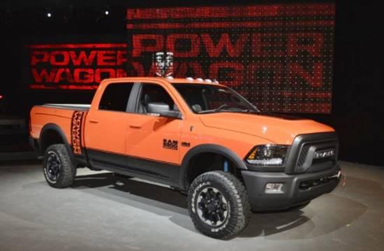2018 Dodge RAM 2500 Power Wagon Redesign