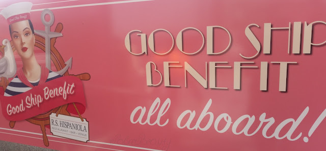 Good Ship Benefit Sign