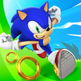 ساعد سونيك في لعبة Sonic Dash والقفز وتدور في طريقه لتجاوز جميع العقبات الصعبة في لعبة سونيك داش الممتعة على الإنترنت!
