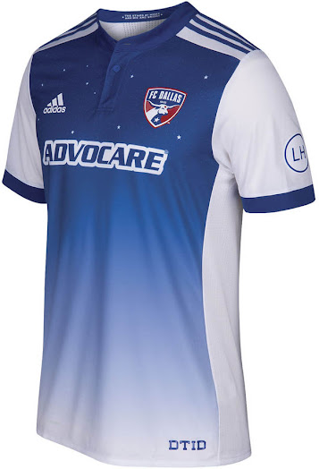 new concept b9cee 7ad25 FC Dallas 2018 Home Kit Released - Footy Headlines