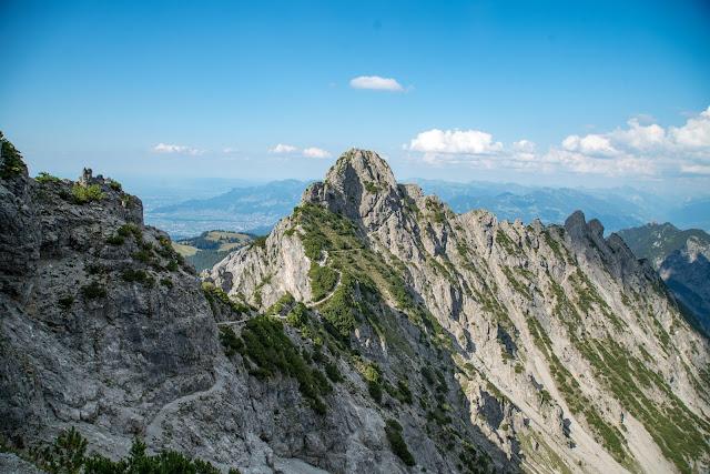 Fürstensteig  Gafadura Hütte - Drei-Schwestern - Gaflei  Wandern in Liechtenstein 01