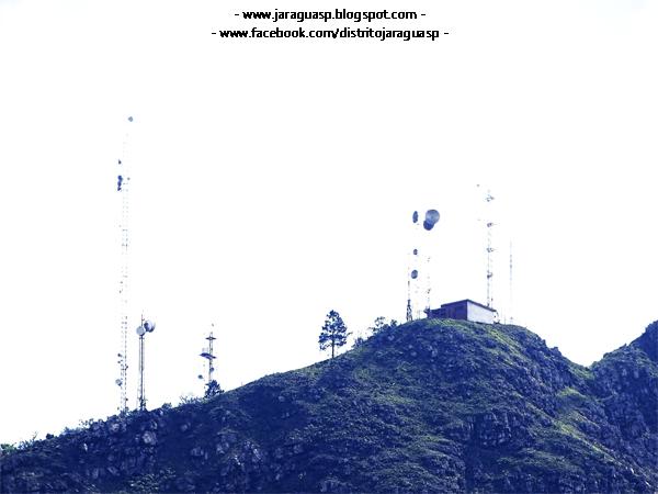 Parte do Pico do Jaraguá vista a partir da rua Belém de Maria