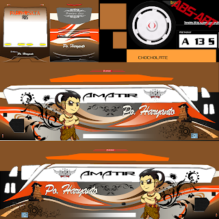 Livery Bus Simulator Indonesia Jernih PNG Bagian V7