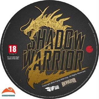 Shadow Warrior 2 Disc Label